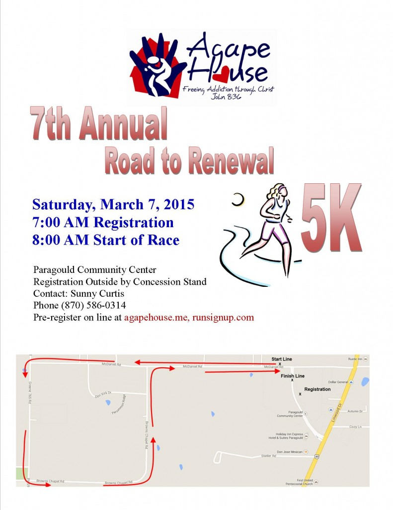 7th Annual 5K Flyer